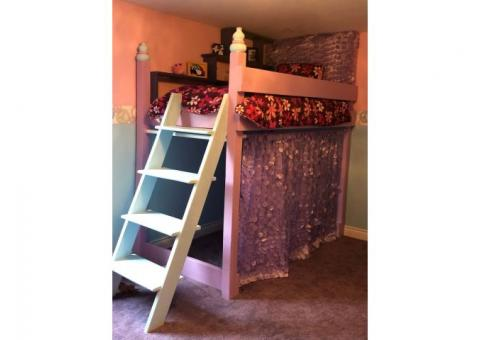 Custom Bunk Bed Loft